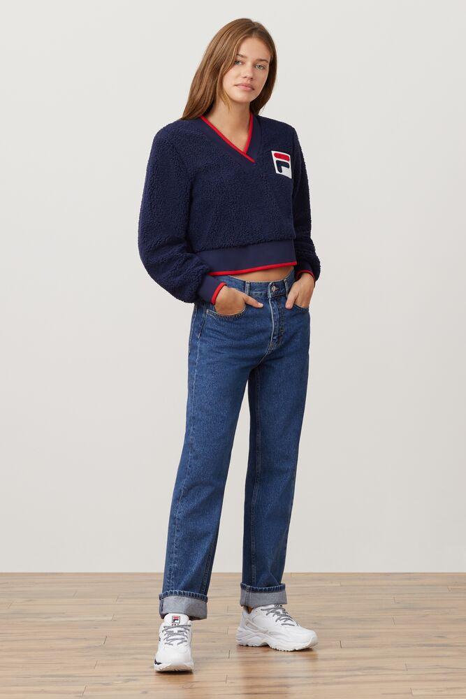 sylvia crop sherpa sweatshirt in webimage-C5256F81-5ABE-4040-BEA94D2EA7204183