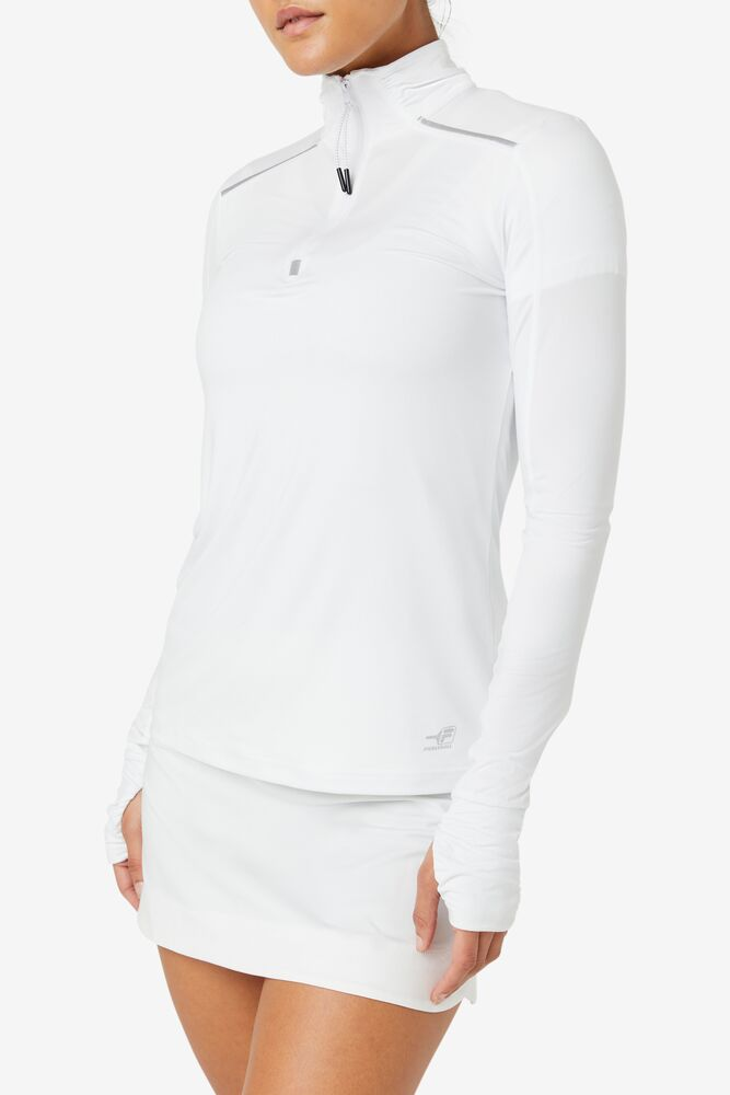 Pickleball 1/4 Zip Long Sleeve in webimage-8A572F80-2532-42C2-9598F832C44DF3F5