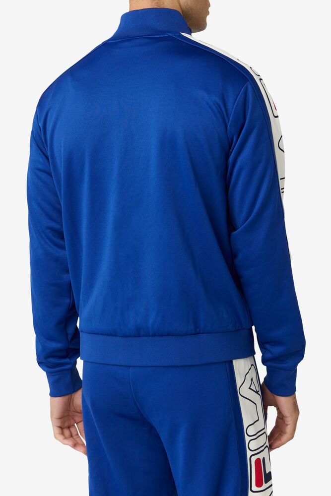 Gatlin Track Jacket in webimage-00CCF136-3091-49F5-8C42A9403A0DF2A4