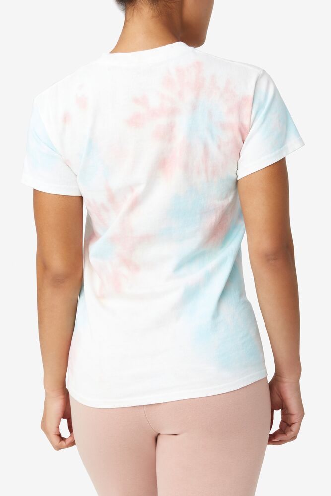TIE DYE STACKED TEE