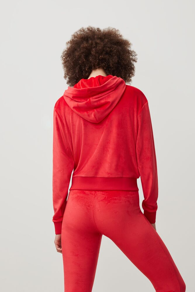 cipriana embossed velour hoodie in webimage-8F0326A2-F58E-4563-86D1C5CA5BC3B430