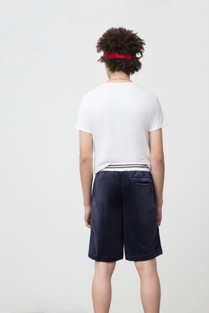 Men's Velour Athletic Shorts   Fila