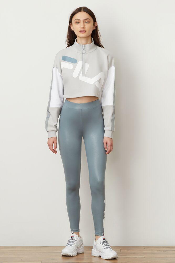 kaia 1/2 zip cropped sweatshirt in webimage-7B54CAC2-FC47-4CB3-A967584AB1BD0F02