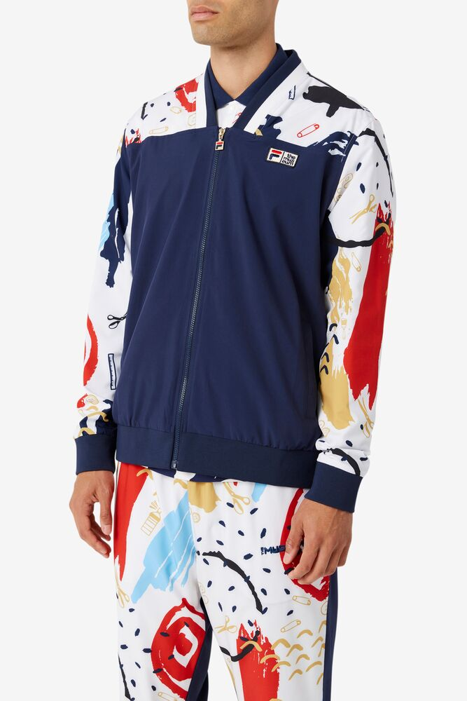 FILA x The Museum Printed Track Jacket in webimage-C5256F81-5ABE-4040-BEA94D2EA7204183