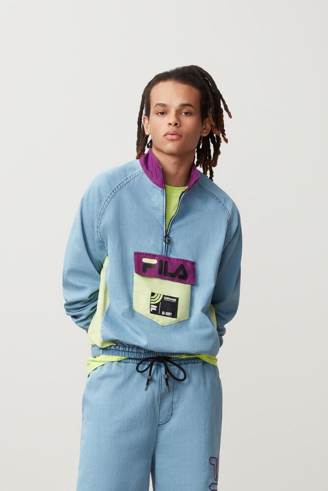 doug 1/4 zip track top in NotAvailable