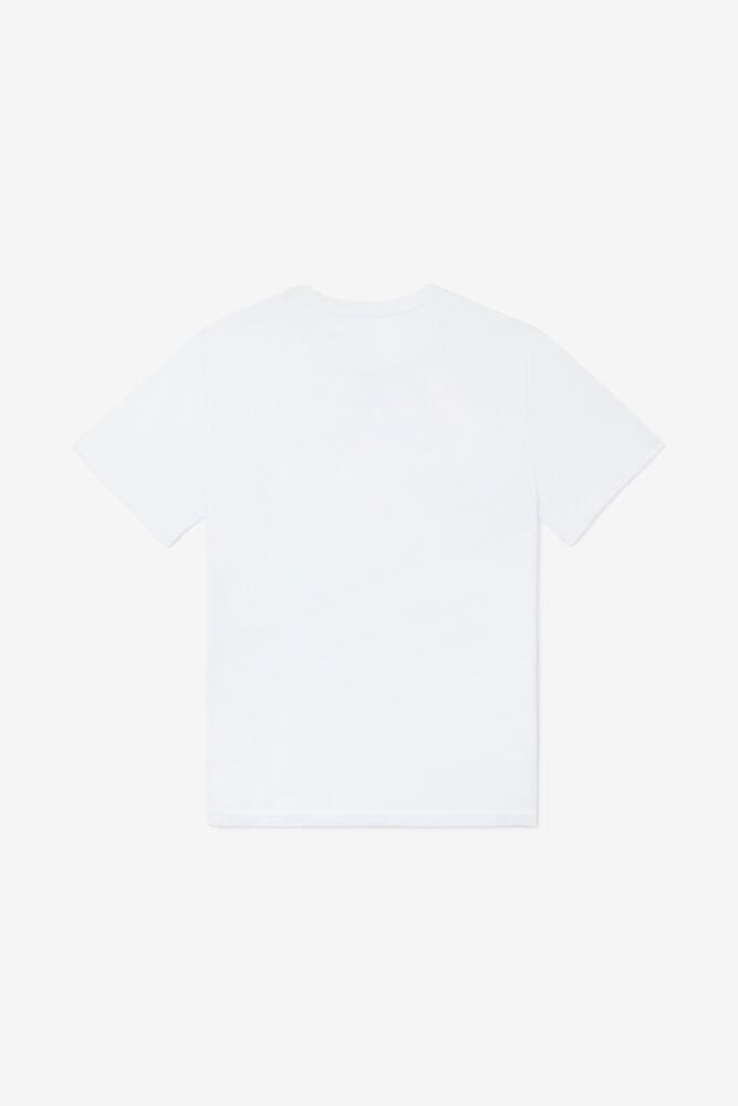 Kids' Wes Tee in white