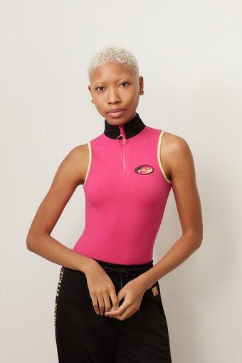 roldana 1/4 zip bodysuit in webimage-5450047E-BCAD-4E00-BFF6568CE6A3682A