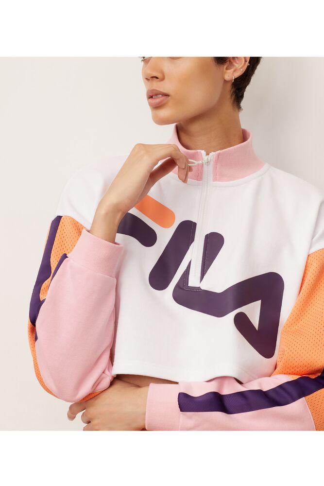 kaia 1/2 zip cropped sweatshirt in webimage-8A572F80-2532-42C2-9598F832C44DF3F5