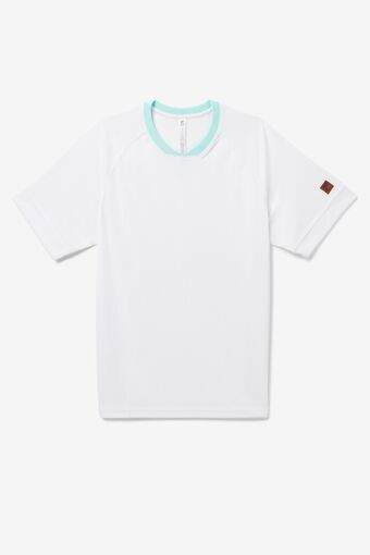Cross Court Short Sleeve Crew in NotAvailable
