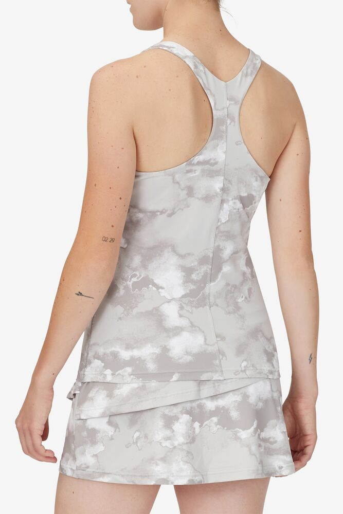 Deuce Court Printed Racerback Tank in webimage-CFB68797-743A-47D7-AE1ABE2F0424288A