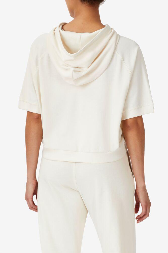Genoveffa Short Sleeve Hoodie in webimage-2630E143-12B1-4625-BA295D0DEAC066B5