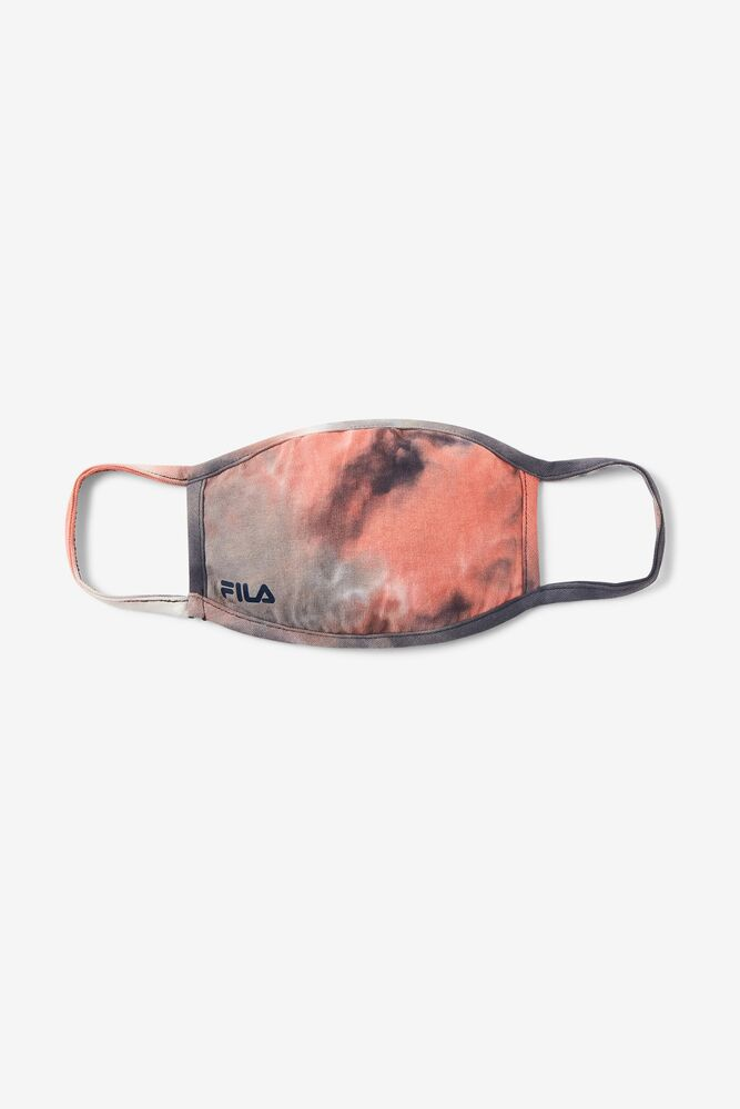 Red Tie Dye Cloth Face Mask FILA.com exclusive in webimage-03B5544D-9FB8-4C94-BA0AAB5EAE549F21