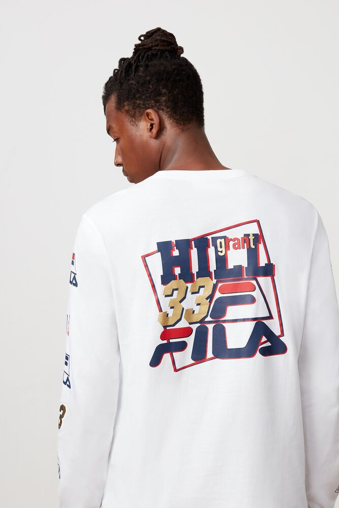 Grant Hill insignia long sleeve tee in NotAvailable