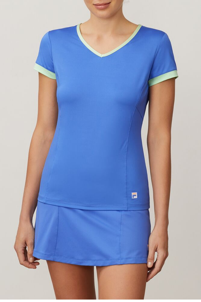colorful play short sleeve v-neck in webimage-BD95735E-C177-42D5-915D6F6CA50B9F1B
