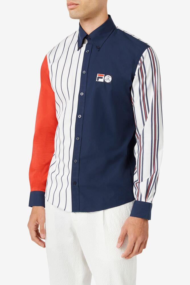 Brooks Brothers x FILA Milano Fit Performance Fun Shirt in webimage-C5256F81-5ABE-4040-BEA94D2EA7204183