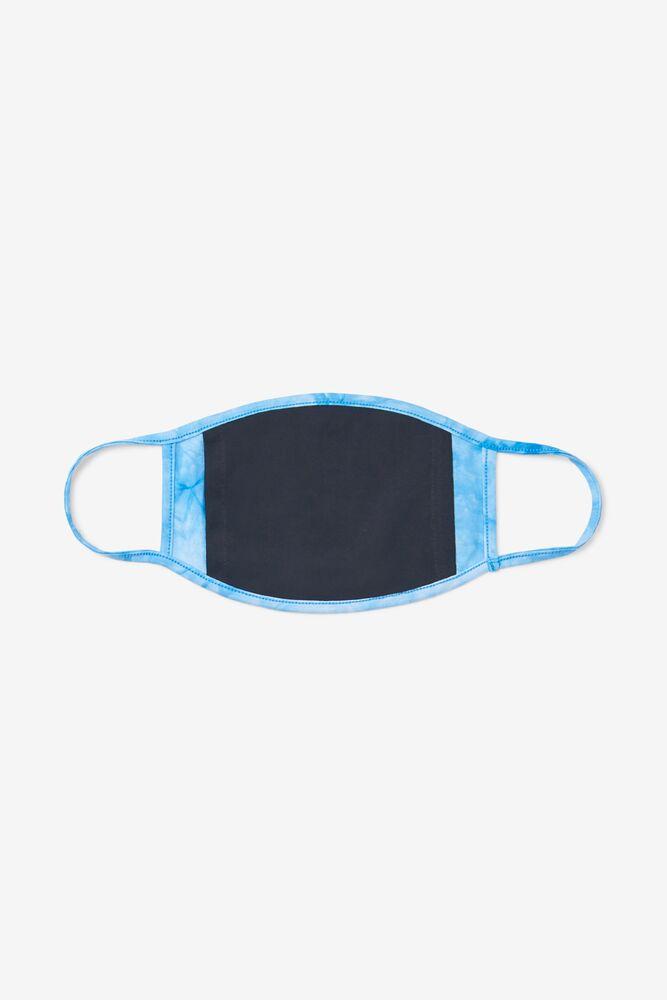 Light Blue Tie Dye Face Mask in webimage-4F02A8D1-2A1B-475D-86A6365398156CD2