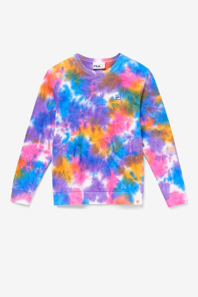 Jamie Tie Dye Crewneck Sweater in webimage-172437AE-7074-439A-A9FA57C421BB85C8