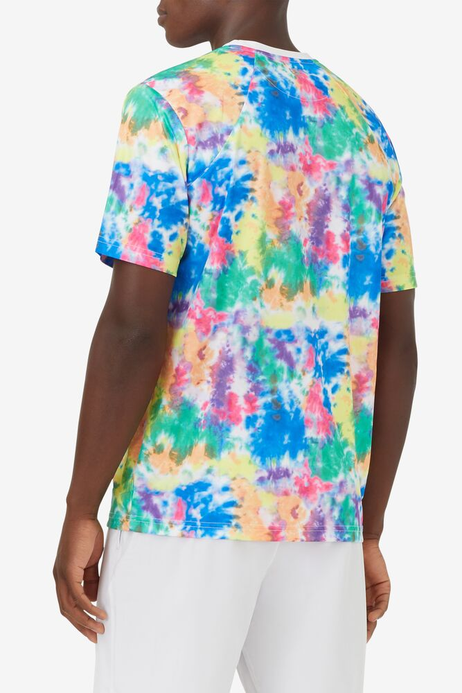 Top Spin Tie Dye Printed Crew in webimage-8A572F80-2532-42C2-9598F832C44DF3F5