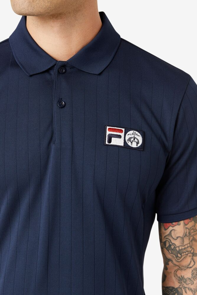 Brooks Brothers x FILA Championship Drop Needle Polo in webimage-C5256F81-5ABE-4040-BEA94D2EA7204183