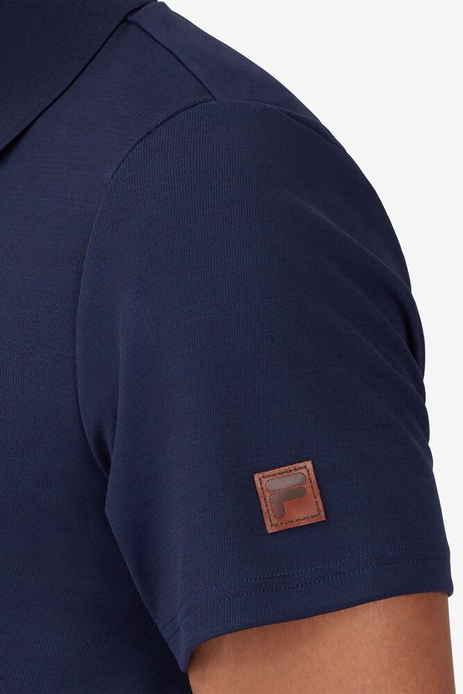 Cross Court Texture Polo in webimage-51D5B47B-711C-4073-92BDC5BBEBEDFA64