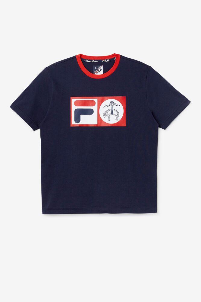 Brooks Brothers x FILA Deuce Logo Tee in webimage-C5256F81-5ABE-4040-BEA94D2EA7204183