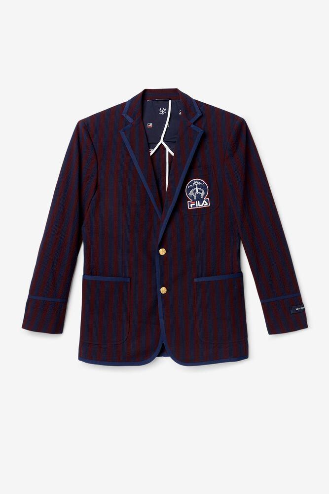 Brooks Brothers x FILA Regent Fit Striped Newport Blazer in webimage-C5256F81-5ABE-4040-BEA94D2EA7204183