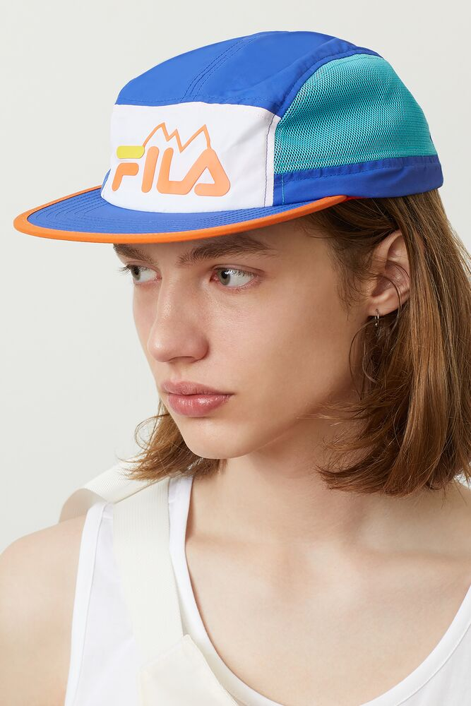 FILA mountain 5 panel hat in webimage-65F95B38-1101-4BA4-9776AE24F2661A94