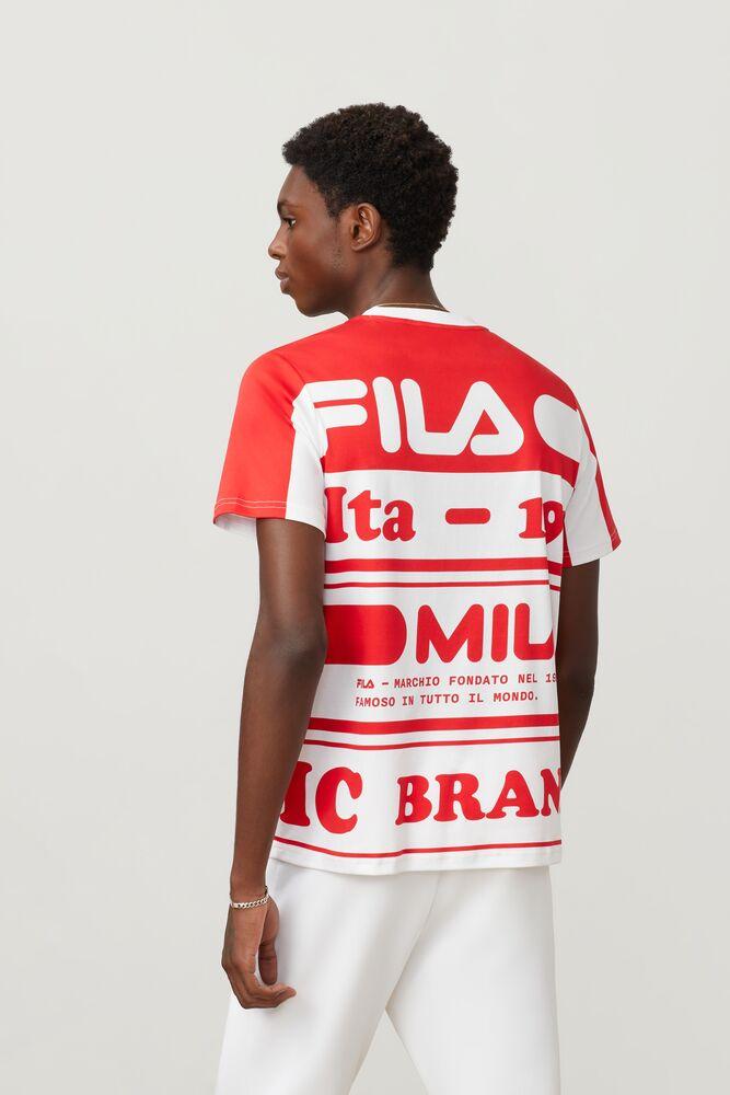 FILA Milano printed cotton tee in webimage-8F0326A2-F58E-4563-86D1C5CA5BC3B430