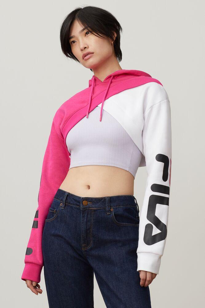Edie Crop Hoodie - Sweatshirts