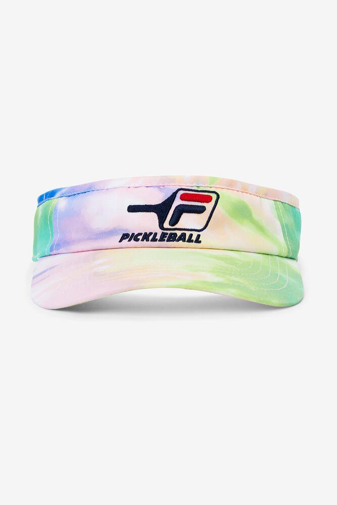Tie Dye Pickleball Visor in webimage-895DE62C-AA6B-4B23-AE61DA821C63DC9D