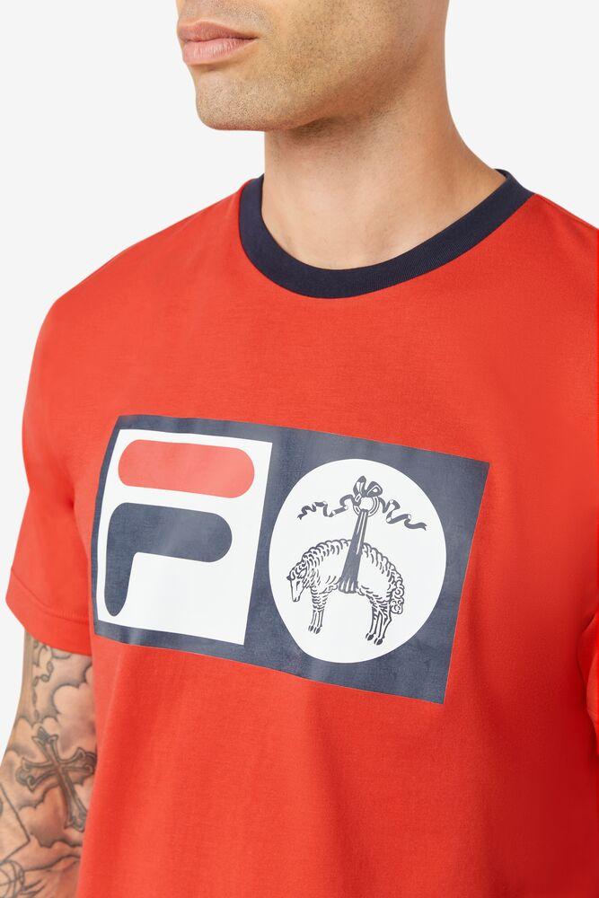 Brooks Brothers x FILA Deuce Logo Tee in webimage-8F0326A2-F58E-4563-86D1C5CA5BC3B430