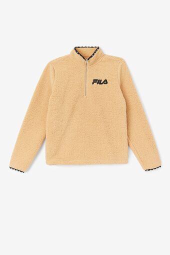 Shelly Sherpa Quarter Zip Jacket in webimage-FC2692AF-6DA8-4EF4-86FF5645B2EEC7D1