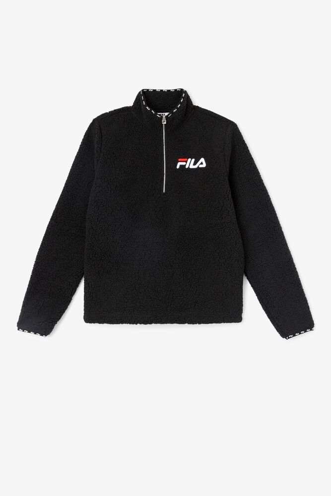 Shelly Sherpa Quarter Zip Jacket in webimage-16EDF0C7-89E9-4B76-AF680D327C32E48E