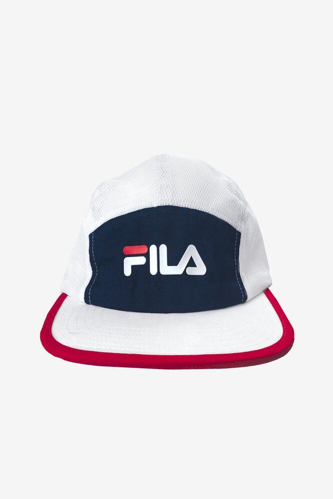 Fila Five Panel Colorblocked Hat in webimage-C5256F81-5ABE-4040-BEA94D2EA7204183