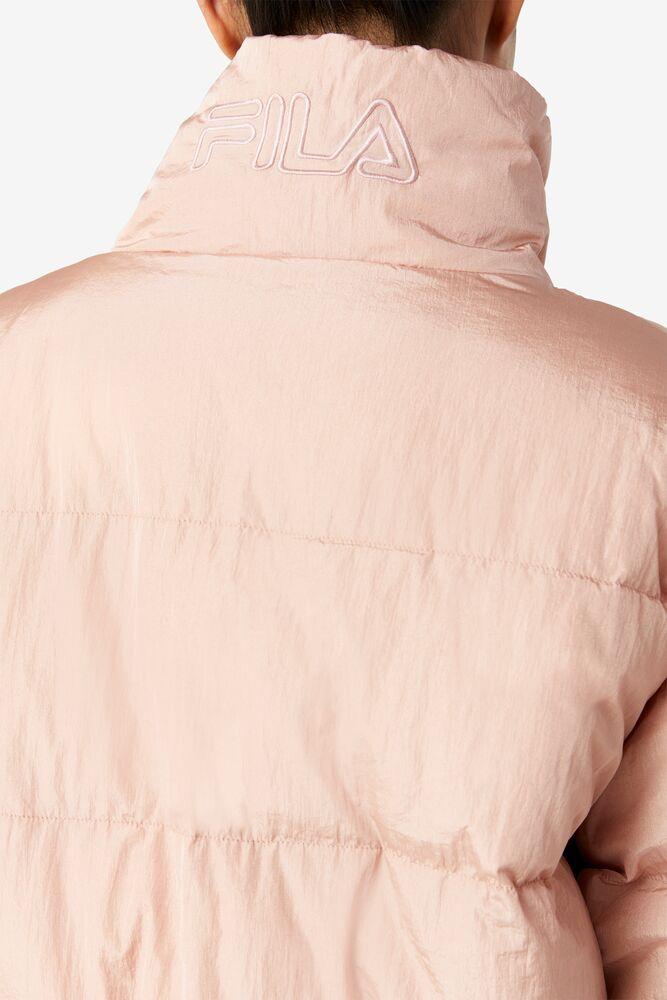 Samaira Cinch Waist Puffer Jacket in webimage-BC06E6D8-3FDE-41D6-9D6968747BE13F9B