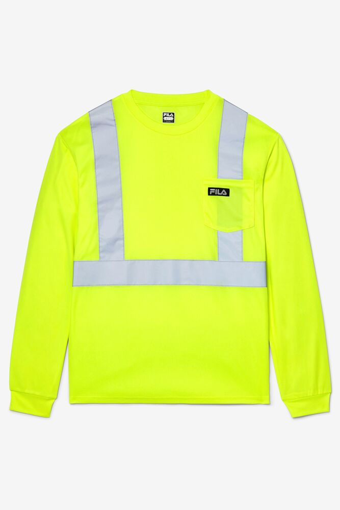 High Visibility Long Sleeve Work Shirt in webimage-C04E1E29-EF0A-4931-BCD0404FC2EC67B5