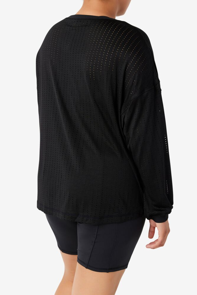 Fi-Lux Mesh Long Sleeve Top in webimage-16EDF0C7-89E9-4B76-AF680D327C32E48E
