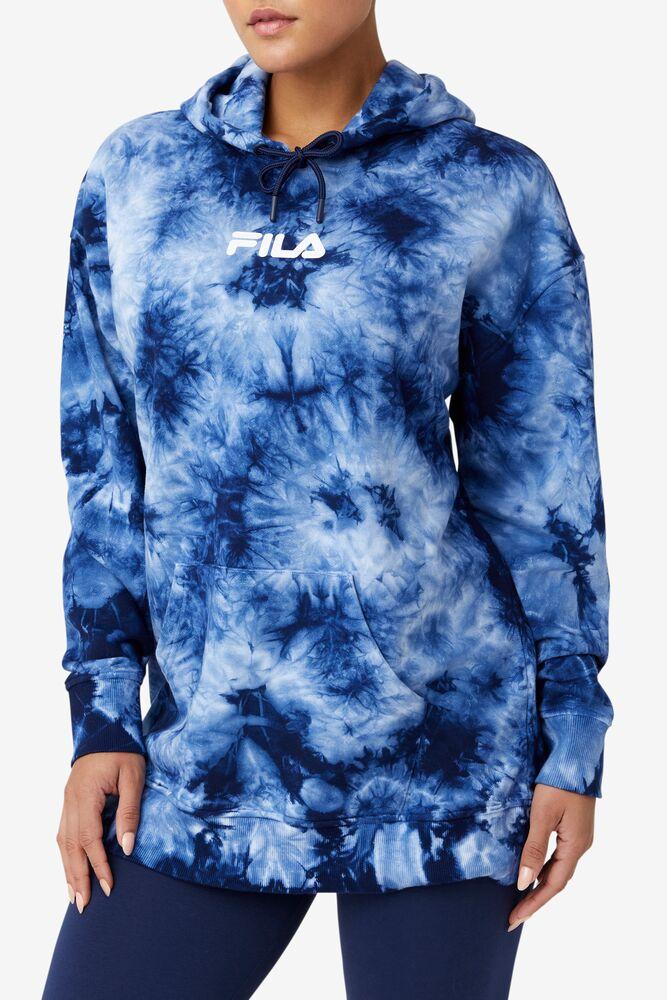 Presley Tie Dye Hoodie in webimage-C5256F81-5ABE-4040-BEA94D2EA7204183