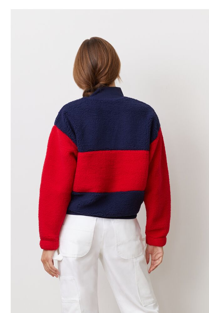 laverne 1/4 zip sweatshirt in webimage-C5256F81-5ABE-4040-BEA94D2EA7204183