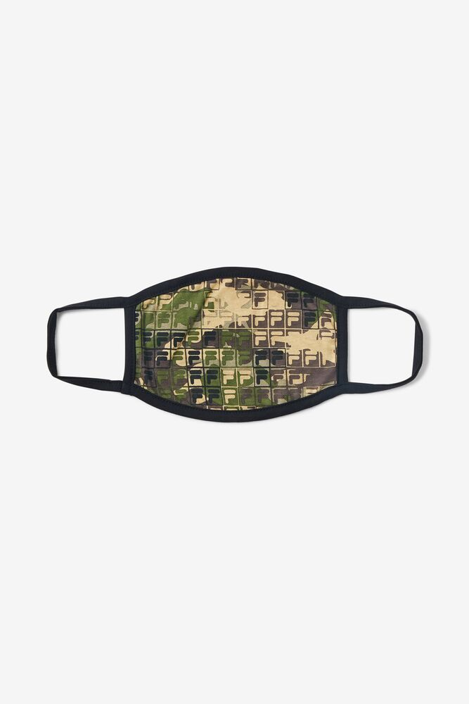 Camouflage Logo Face Mask FILA.com exclusive in webimage-72226AF7-BF53-4347-81B87E6048CAF257