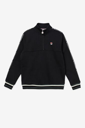 Murray 1/2 Zip in black