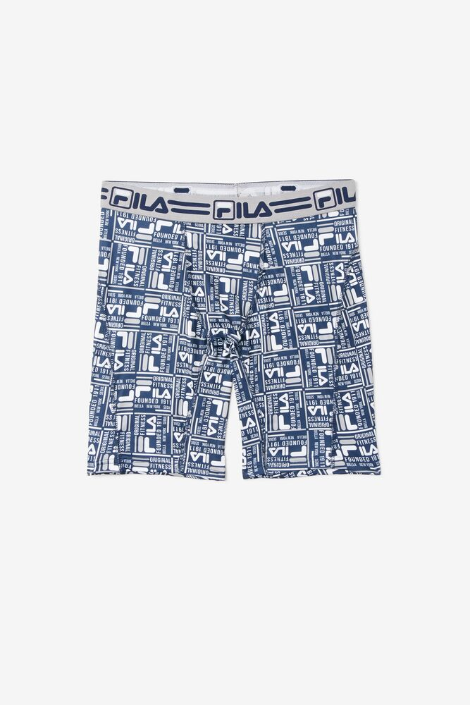 Men's Blue Allover Print Boxer Briefs in webimage-C5256F81-5ABE-4040-BEA94D2EA7204183