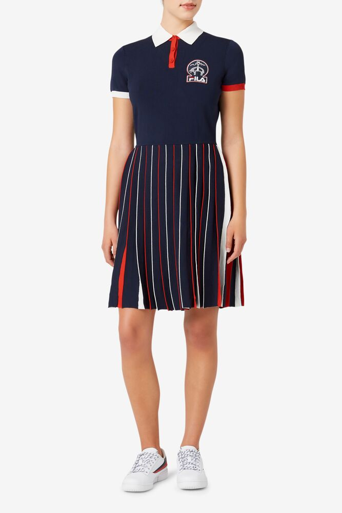 Brooks Brothers x FILA Rally Sweater Dress in webimage-C5256F81-5ABE-4040-BEA94D2EA7204183