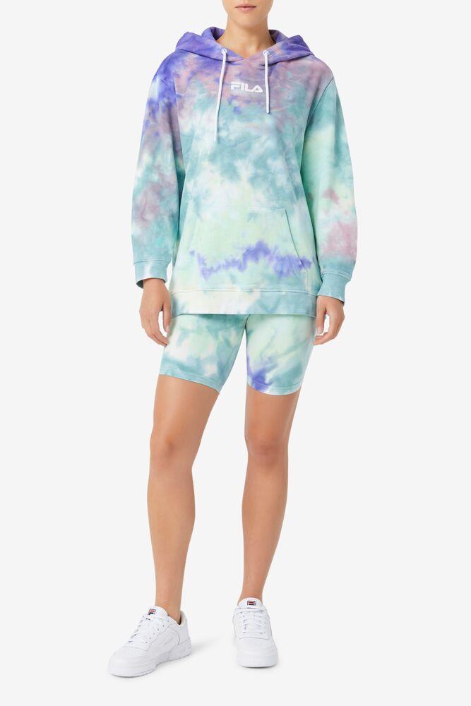 Aerolynn Tie Dye Hoodie in webimage-AF3C3A81-1F07-4CD0-A4D3E188ED42ADA3
