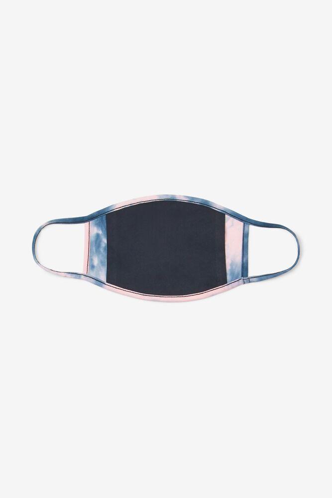 Pink Tie Dye Face Mask in webimage-23512BB7-FE42-4529-B414DA95A894AA70
