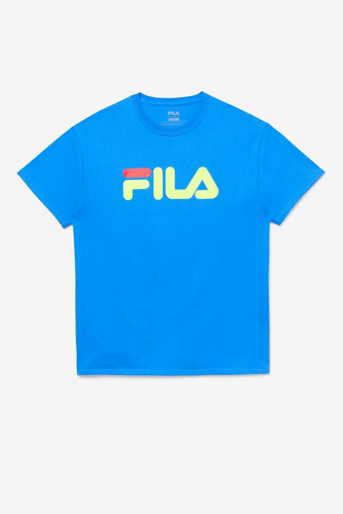 Men's FILA Logo Tee in webimage-65F95B38-1101-4BA4-9776AE24F2661A94
