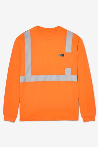 High Visibility Long Sleeve Work Shirt in webimage-CF91E6B3-52D3-4B83-B9F71A48FCCEB5DD