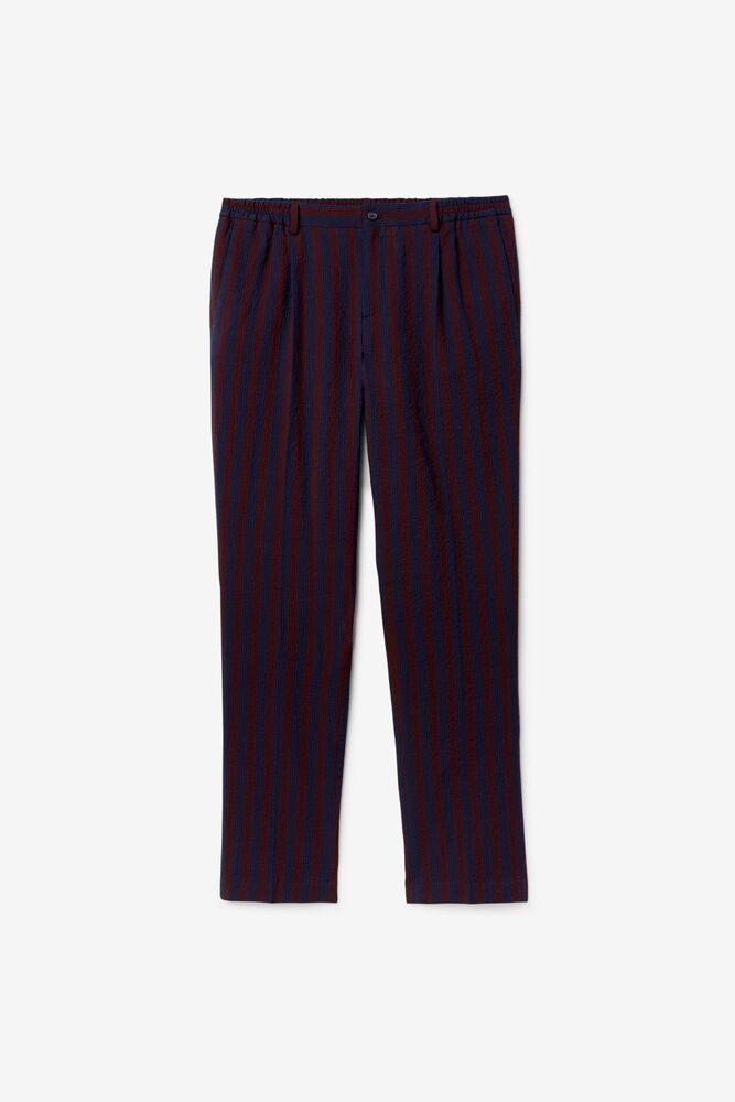 Brooks Brothers x FILA Regent Fit Striped Newport Trousers in webimage-C5256F81-5ABE-4040-BEA94D2EA7204183