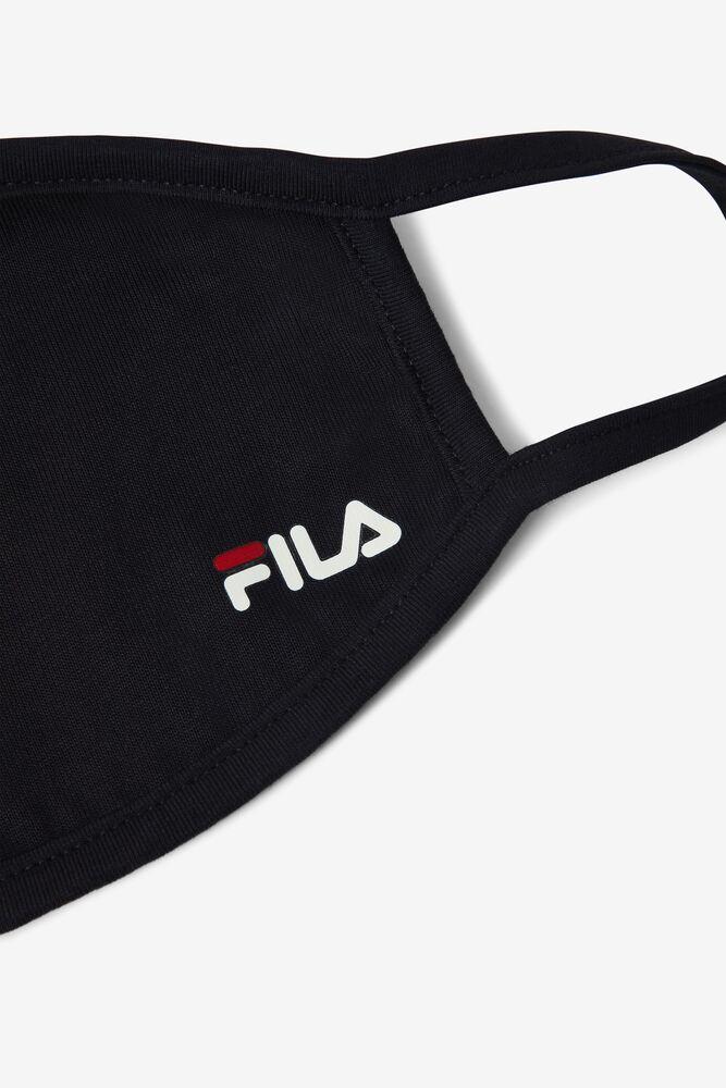 Face Mask in Black FILA.com exclusive in webimage-16EDF0C7-89E9-4B76-AF680D327C32E48E