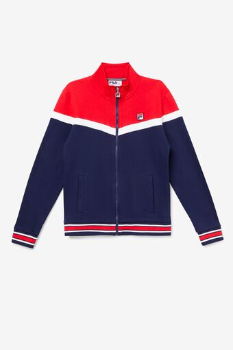 Flint Track Jacket in navy